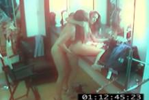 Lesbians hidden camera